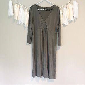 Tommy Bahama Grey Stretchy Cotton Dress
